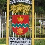 Letrero de bienvenida a Jayuya
