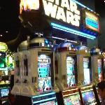 May the force, ahem, progessive jackpot payoff, be with you! These aren't the slots you're looki