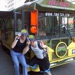 Teenage Mutant Ninja Turtle Bus- First stop on national tour: NYC!