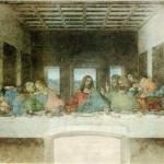 La Cène (Léonard de Vinci) Photo