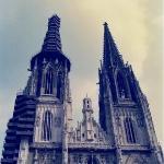 "Regensburg city centre church ""The Dom"""