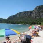 Lake 'Beach', Garda