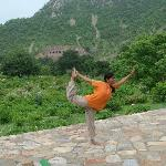 Yoga at Bhangarh