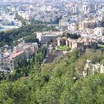 Malaga from the castle