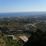 The view from Mijas