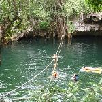 could have spent entire afternoon at the cenote - what a blast!