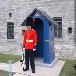 Quebec's Citadel, complete with guards like Buckingham Palace