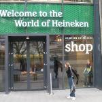 appena arrivati all'Heineken experience...pronti per le degustazioni