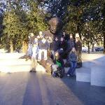 our group on the Einstein Statue =D