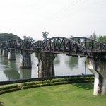 Bron över floden Kwae