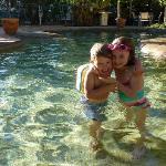 The main heated pool