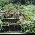 Jardines del Teleferico para subir a Monserrat