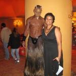 At the Cirque du Soleil show Zumanity