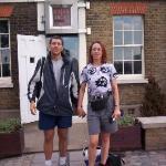 London 2006 - Greenwich. Standing on the meridian line zero.