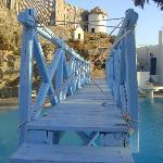 Il ponte pericolante della piscina!