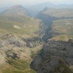 Valle en el Parque de Monte Perdido Ordesa