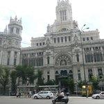 Palacio de las Comunicaciones. Madrid.