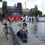 Eu em Amsterdã