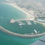 Blick aus dem Burj Al Arab