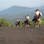 Riding to the Volcano