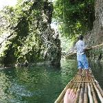 "Rafting the Rio, this is ""Lover's Lane"""