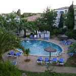 Piscina Hotel Sol Falcó, Menorca, desde la habitación