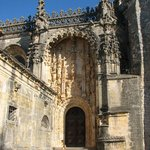 Tomar - The catherdral entrance