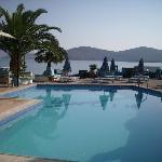 Hiona Apartments pool and views