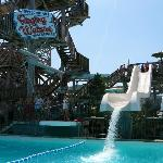 Raging Waters Shotgun Falls