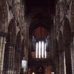 Interior de la Catedral de Glasgow
