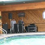 Band by the Pool