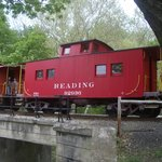 2 Reading Cabooses