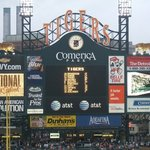 Comerica Park - Stop four on the tour