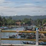 Fisherman settlement at the coastal of Cilacap, December 27, 2008.
