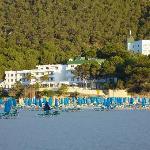 El Pinar and Cala Llonga Beach
