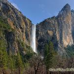 Bridal Veil Falls, Yosemite National Park, March 2009