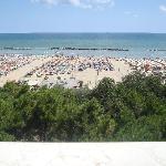 questo è il panorama che avevamo dal balcone della nostra camera.