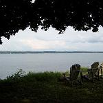 View of Seneca Lake from the property