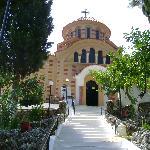 l eglise de saint nickolaus  en direction  d arhipoli