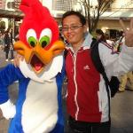 With Woody at USJ