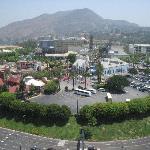 View of Universal Studios from 21st floor room