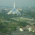 Kuching view from hotel room