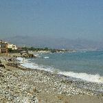 mare e spiaggia vista termini imerese zona industriale