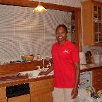 Simone in the Kitchen