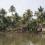 House from the river