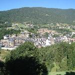 View from the balcony over La Massana