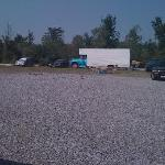 """Drive-In Movie """"Theater"""" at Thunder Road"""