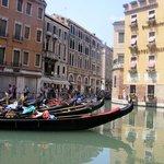 Gondola `s in Venice.