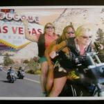 Crazy girls on a Harley
