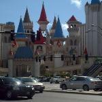 Excalibur hotel.
